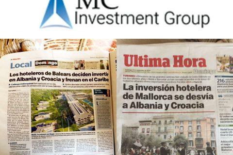 Mediat spanjolle shkruajnë për suksesin e kompanive spanjolle në Shqipëri.